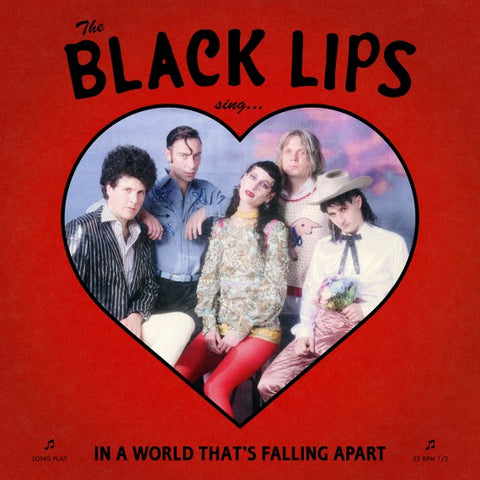 The Black Lips - Sing... In A World That's Falling Apart (LP, Deluxe Edition, Die-cut sleeve, Red Vinyl)