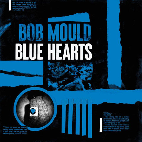 Bob Mould - Blue Hearts (LP, tri-colour vinyl)