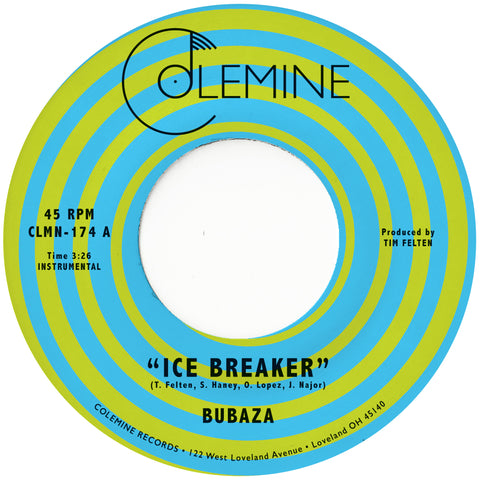 "Bubaza - Ice Breaker (7"", Orange Vinyl)"