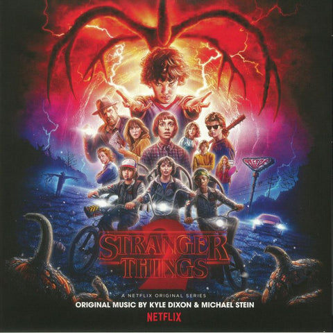 Kyle Dixon & Michael Stein - Stranger Things 2 (2xLP, clear w/ blue & white splatter vinyl)