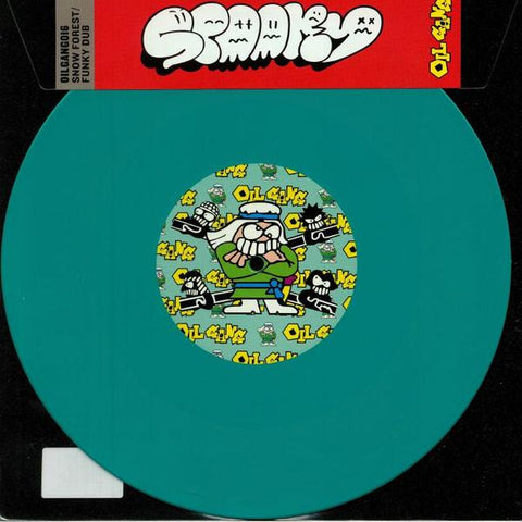 "Spooky (Bizzle) - Snow Forest / Funky Dub (10"", Green Vinyl)"