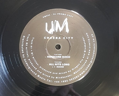 "Cheeba City - Hardcore Disco EP (12"")"