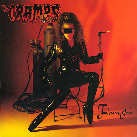 The Cramps - Flamejob (LP, Orange & Yellow Swirl vinyl)