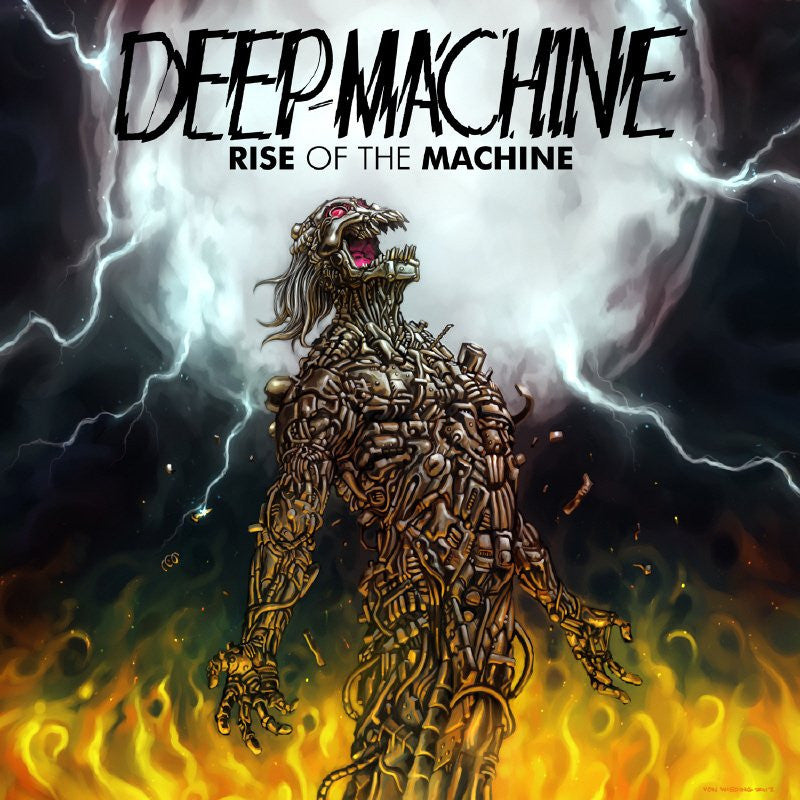 Deep Machine - Rise Of The Machine CD