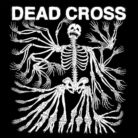 PREORDER - Dead Cross - S/T (LP, Clear/Red/Black Swirl Vinyl)
