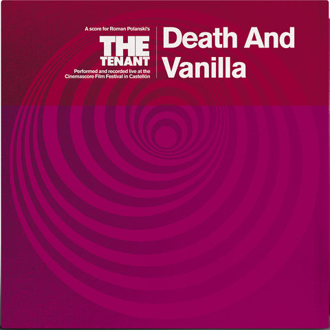 PREORDER - Death And Vanilla - The Tenant (LP, Magenta coloured vinyl)