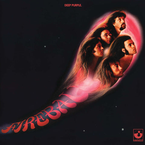 Deep Purple - Fireball (Remaster) (LP, 180g Purple Gatefold Vinyl)