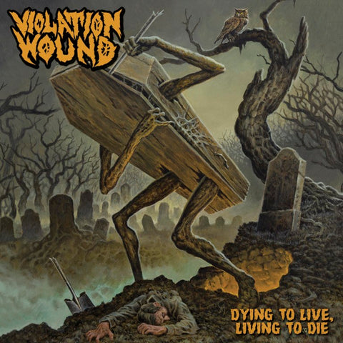 Violation Wound - Dying To Live, Living To Die (CD, Digipak)