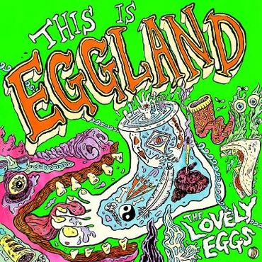 The Lovely Eggs - This Is Eggland (LP, Orange Vinyl)