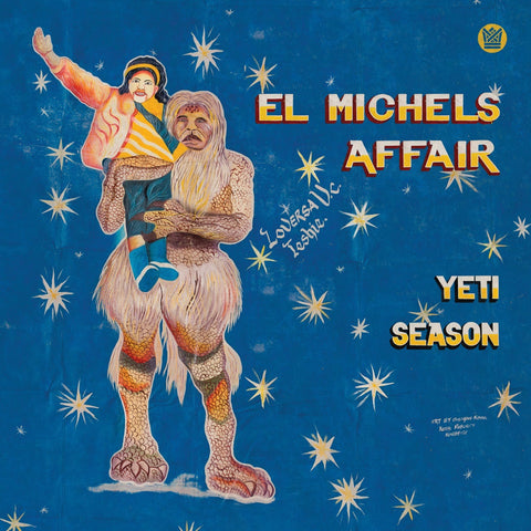 El Michels Affair - Yeti Season (LP, Clear Blue vinyl)