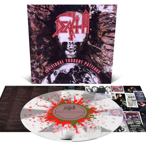 Death - Individual Thought Patterns (LP, Clear w/ Pinwheels & Splatter)