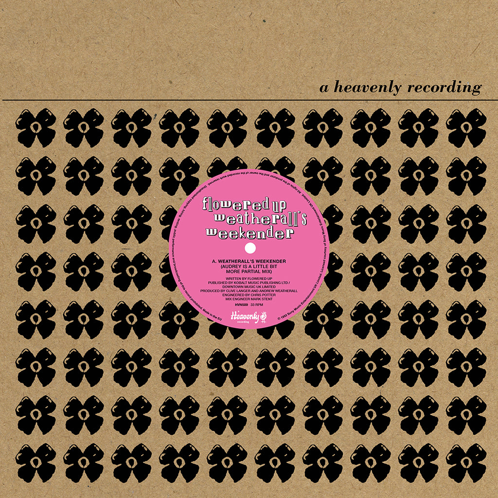 "Flowered Up - Weatherall's Weekender (12"")"