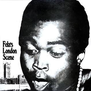Fela Kuti - London Scene LP