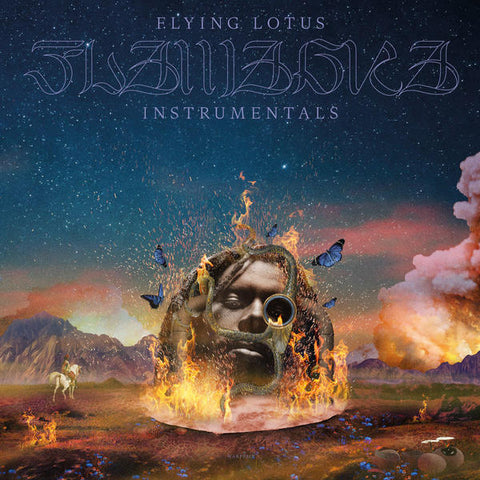 PREORDER - Flying Lotus - Flamagra Instrumentals (2xLP + Slipmat)