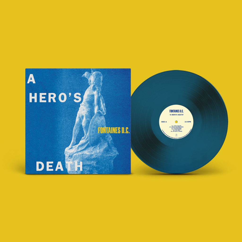 Fontaines D.C. - A Hero's Death (LP, Stormy Blue vinyl)
