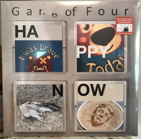 Gang Of Four - Happy Now (LP, White & Orange Splatter vinyl)