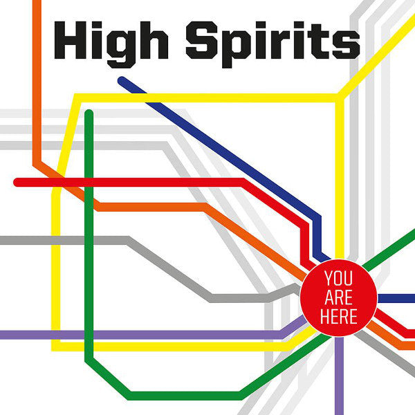 High Spirits - You Are Here LP (Ultra Clear Vinyl)