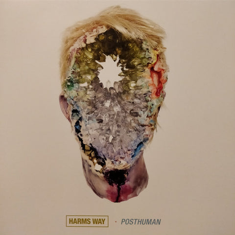 Harms Way - Posthuman (LP, White/Black Marbled Vinyl)