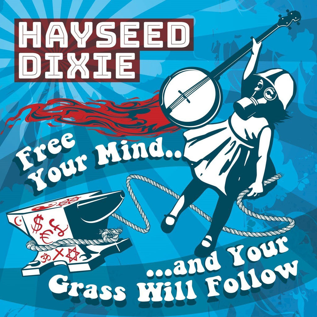 Hayseed Dixie - Free Your Mind... (LP, Clear Vinyl) [RSD17]
