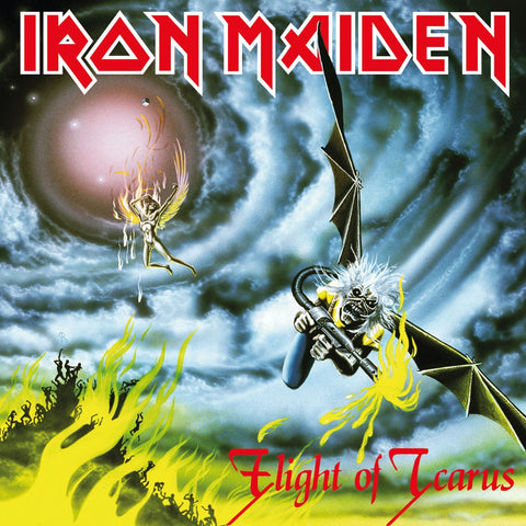 Iron Maiden - Flight Of Icarus 7""