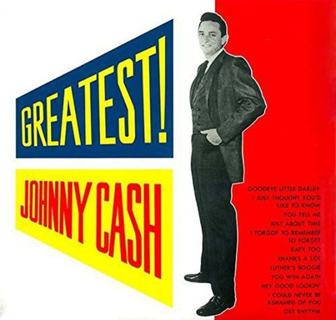 Johnny Cash - Greatest! (LP, 180gm)