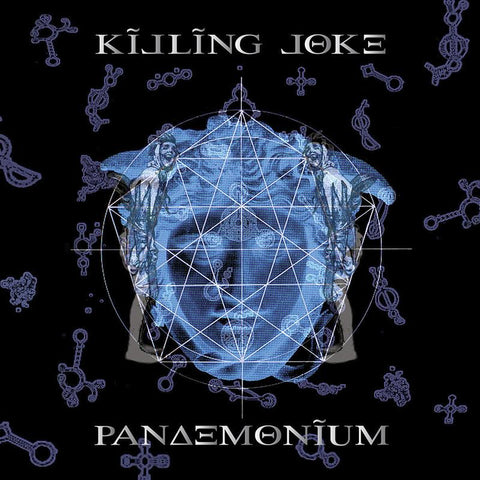 Killing Joke - Pandemonium (2xLP, Transparent Blue & Clear vinyl)