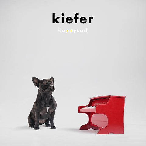PREORDER - Kiefer - Happysad (LP, Clear Vinyl)