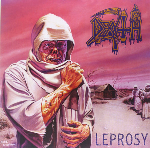 Death - Leprosy: 30th Anniversary Edition (2xLP, Milky Clear Vinyl)