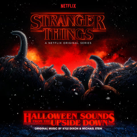 Kyle Dixon & Michael Stein - Stranger Things: Halloween Sounds From The Upside Down (LP, Pumpkin Orange Vinyl)