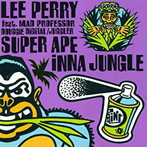 Lee Perry ft Mad Professor - Super Ape Inna Jungle (LP)