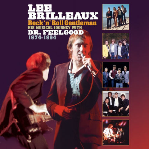 Dr. Feelgood - Lee Brilleaux: Rock & Roll Gentleman (LP)