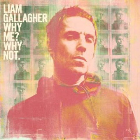 PREORDER - Liam Gallagher - Why Me? Why Not. (LP, Bottle Green Vinyl)