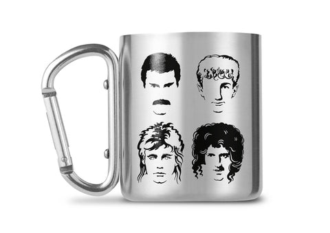 Queen - Faces Carabiner Mug