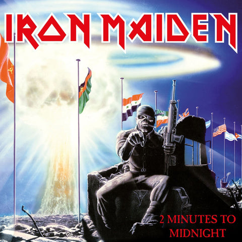 Iron Maiden -  2 Minutes To Midnight 7""