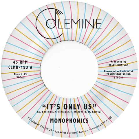 "Monophonics - It's Only Us / Get The Gold (7"")"