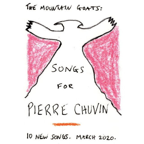 The Mountain Goats - Songs for Pierre Chuvin (LP, pink & white swirl vinyl)