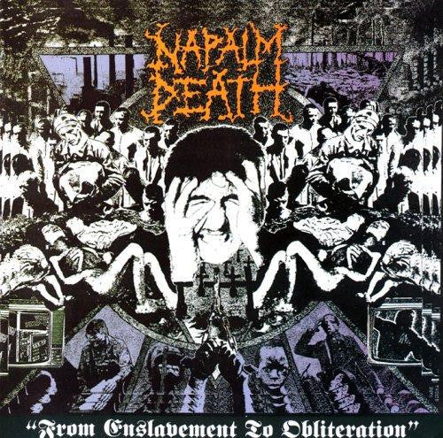 Napalm Death - From Enslavement To Obliteration (LP, 2017 Reissue)