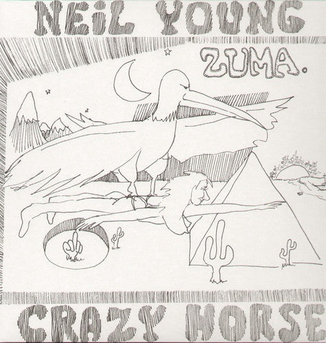 Neil Young with Crazy Horse - Zuma (LP)