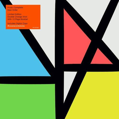 New Order - Music Complete (2xLP, Orange vinyl) (LRS20)
