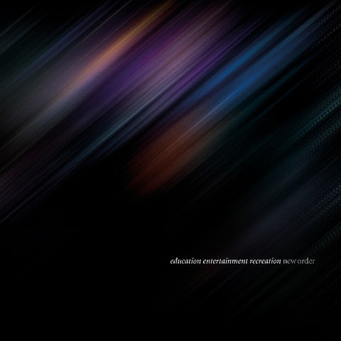 New Order - education entertainment recreation (Live at Alexandra Palace) (3xLP)