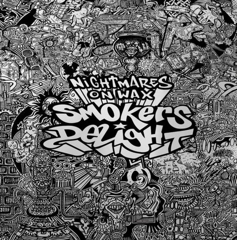 Nightmares on Wax - Smokers Delight (2xLP, Red/Green vinyl, Mirrorboard sleeve)