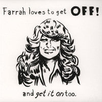 OFF!  - Farrah Loves To Get Off! LP (Keith - pink and black vinyl)
