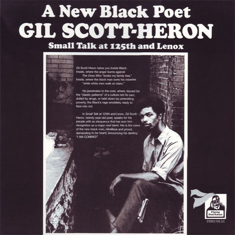 Gil Scott-Heron - A New Black Poet: Small Talk at 125th and Lennox (2015 Reissue)