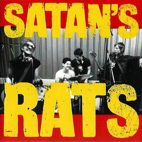 Satan's Rats ‎– What A Bunch Of Rodents CD