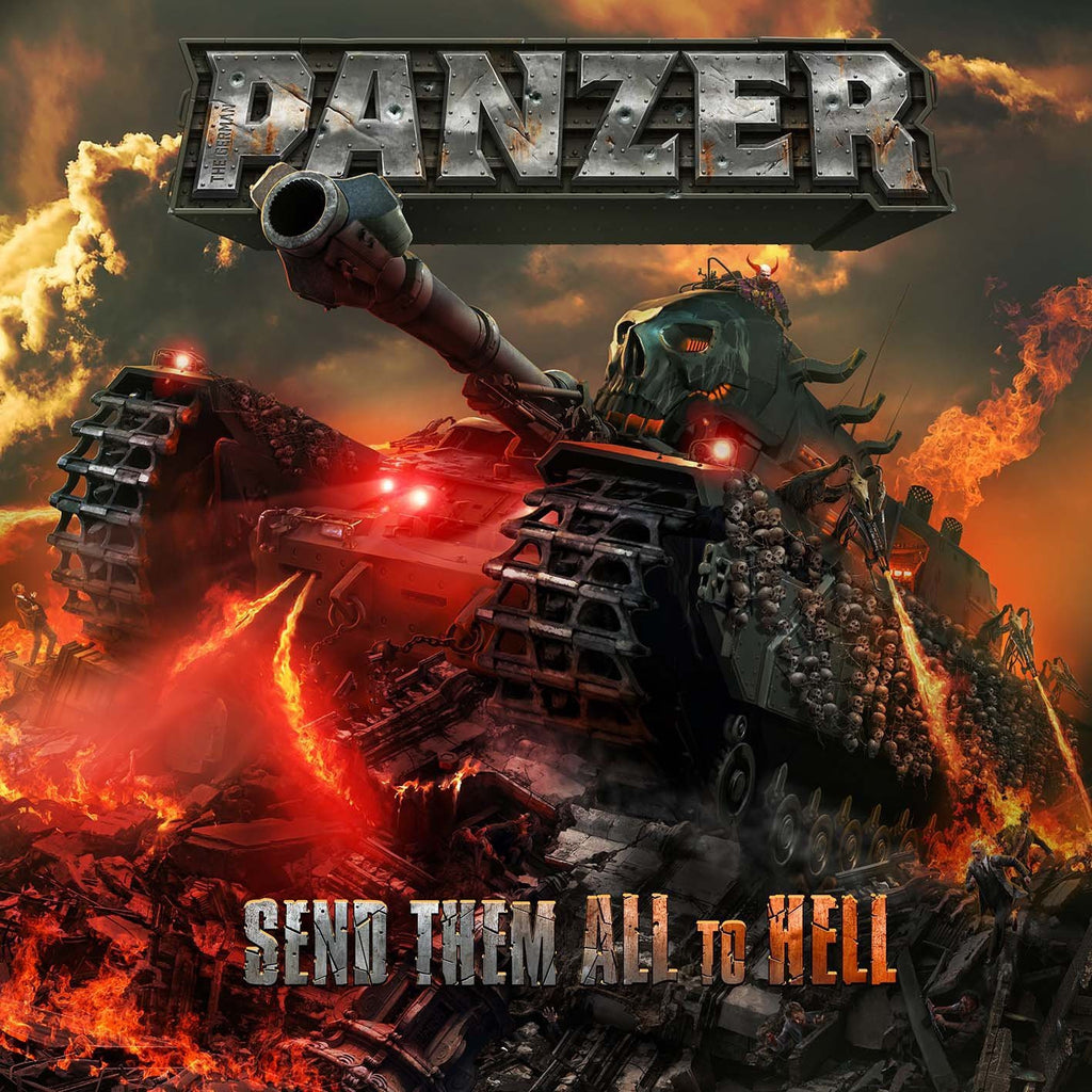 Panzer,the German - Send Them All To Hell CD