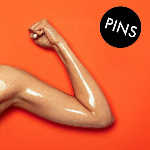 Pins - Hot Slick (LP, Orange vinyl)