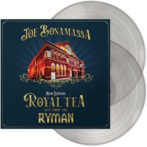 PREORDER - Joe Bonamassa - Now Serving: Royal Tea Live From The Ryman (2xLP, clear vinyl)