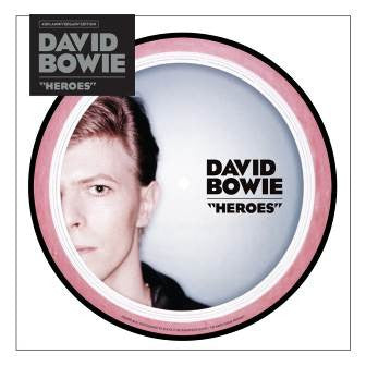 "PREORDER - David Bowie - Heroes (40th Anniversary) (7"" Picture Disc)"