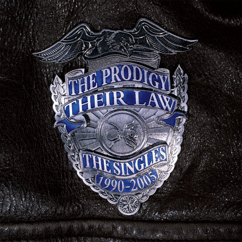 The Prodigy - Their Law The Singles 1990-2005 (2xLP, Silver Vinyl)