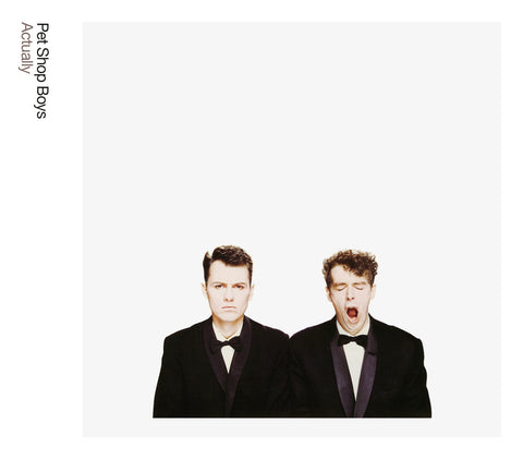 Pet Shop Boys - Actually (LP, 2018 180gm Reissue)